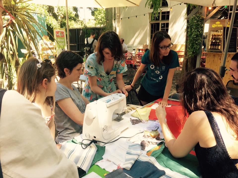 Atelier couture serviette