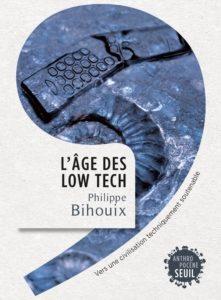 couverture livre l'âge des low tech