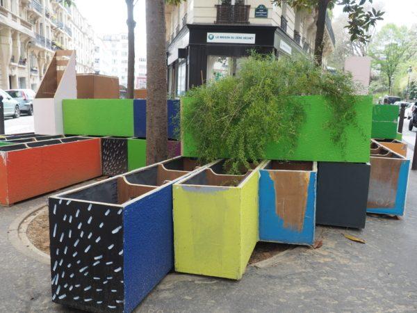 végétalisation de la place Louise Blanquart