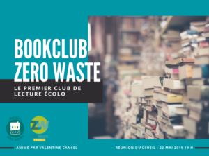 affiche club de lecture zéro déchet