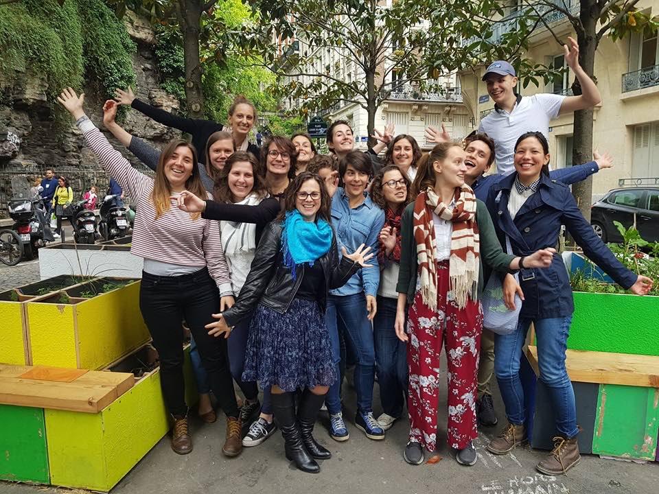 photo de l'équipe bénévole