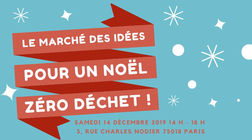 Le Marché des idées pour Noël le 14 décembre 2019