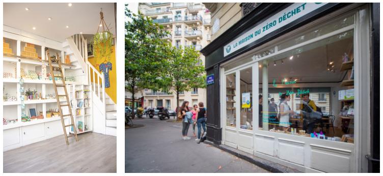 photos des boutiques Lamazuna et Maison du Zéro déchet